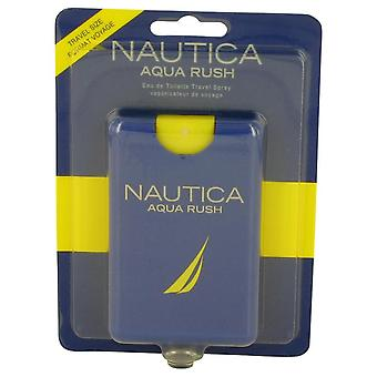Nautica aqua rush eau de toilette travel spray by nautica 536886 20 ml