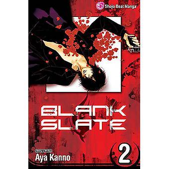 Blank Slate - Vol. 2 by Aya Kanno - Aya Kanno - 9781421519258 Book