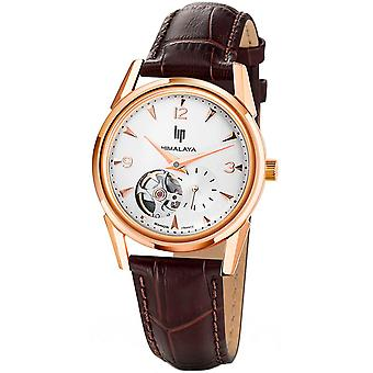 Lip himalaya 35 coeur battant watch for Women Analog Automatic with Cowhide Bracelet 671047