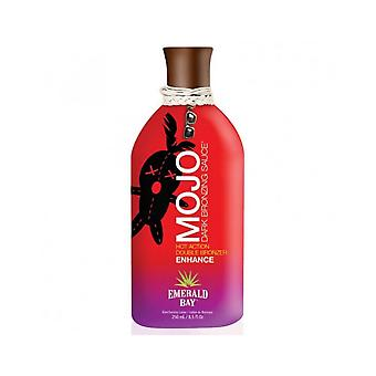 Emerald Bay Mojo Dark Bronzing Sauce Hot Double Bronzer Tanning Lotion - 250ml