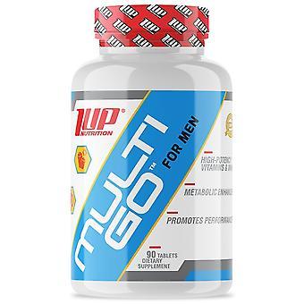 1 op ernæring multi-Go for mænd, vitaminer & amp; amp; Mineraler supplement