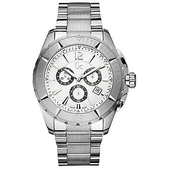 Gc-sport class xxl chrono swiss Quartz Analog Man Watch watch with X53001G1S Stainless Steel Bracelet