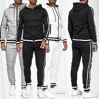 Men's Tracksuit  Jogging Suit Streetwear Sweater Stripes GYM Casual set pants