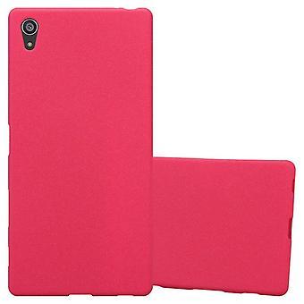 Cadorabo Hülle für Sony Xperia Z5 PREMIUM hülle case cover - Handyhülle aus flexiblem TPU Silikon – Silikonhülle Schutzhülle Ultra Slim Soft Back Cover Case Bumper