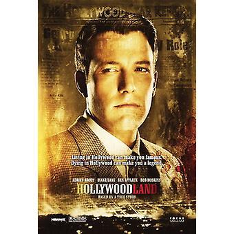 Hollywoodland (kaksipuolinen) alkuperäinen elokuva juliste