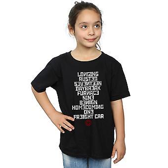 Marvel tyttöjen talvi sotilas laukaista sanat T-paita