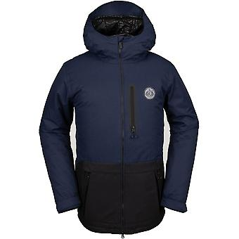 Volcom Deadly Stones Snow Jacket in Navy