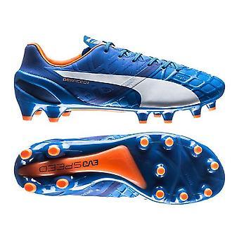 Puma evoSPEED 1.4 Feste Boden Fußballschuhe (Electric Blue)