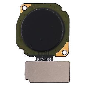 För Huawei P20 lite fingeravtrycks sensor svart Flex kabel reservdel reparation tillbehör