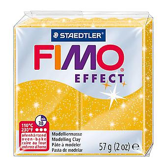 Fimo Effect Modelling Clay, Gold Glimmer, 57 g