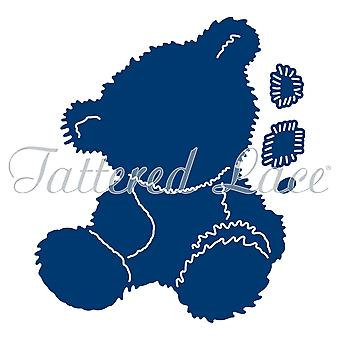 Tattered Lace Charisma Teddy, zilver