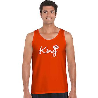 Men's Tank Top Bow Down To The King