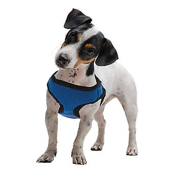 Large Blue Soft'n'Safe Dog Harness