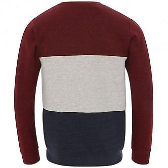 Liverpool FC Hommes Block Crew Sweater