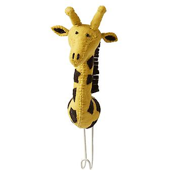 Fiona Walker England Big Felt Giraffe Head Coat Hook