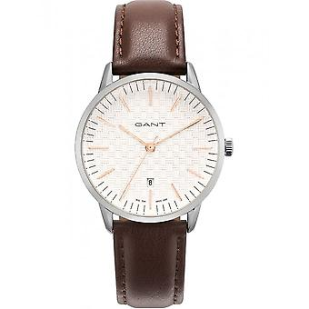 Gant - Accessories - Watches - ARCOLA_GT077002 - Men - saddlebrown,silver