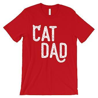 Katze Papa Herren rot Pflege Glück zuverlässige Shirt Geschenk für alle Väter