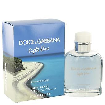 Ljusblå simning i Lipari Eau de Toilette Spray av Dolce & Gabbana 517703 125 ml