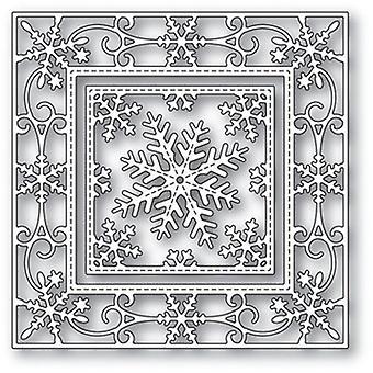 Memory Box Cutting Die - Elegant Snowflake Double Frame