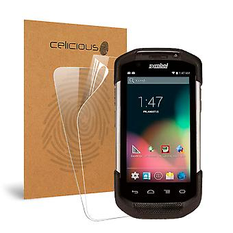 Celicious Vivid Invisible Glossy HD Screen Protector Film Compatible with Zebra TC75 [Pack of 2]