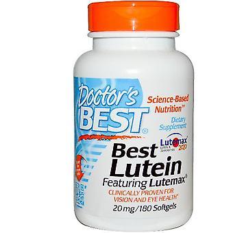 Doctor ' s beste, beste Luteïne ontmoette lutemax 20 mg, 180 gelcapsules
