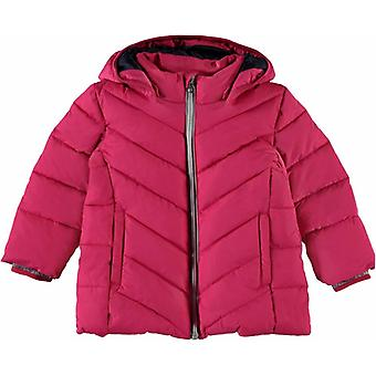 Name-It Meisjes Roze Winterjas Puffer