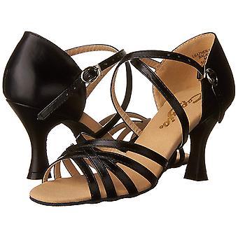 Capezio Womens Rosa Leather Open Toe Special Occasion Strappy Sandals