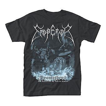 Kejsar Prometheus Black metal officiella T-shirt