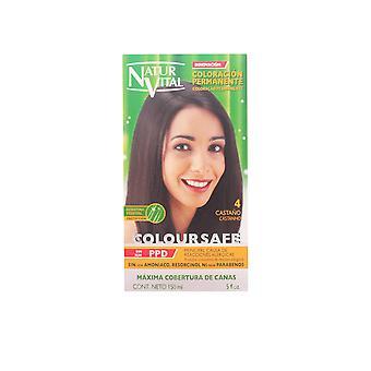 Naturaleza Y Vida Coloursafe Tinte Permanente #4-castaño 150 Ml Unisex