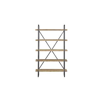 Light & Living Shelving Unit 5 Layers 122x47x200cm Callao Wood