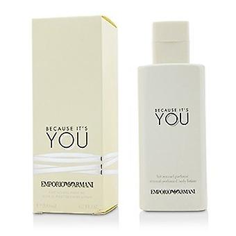 Giorgio Armani Emporio Armani Because It's You Sensual Perfumed Body Lotion 200ml/6.7oz