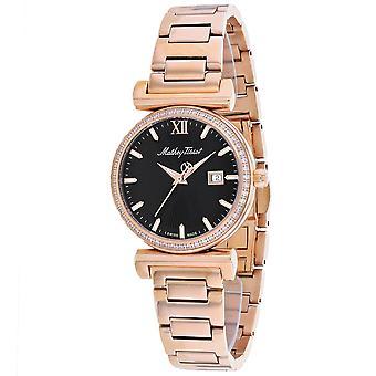 Mathey Tissot Women's Black Dial Watch - D410PQN