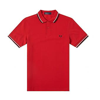 Fred Perry Twin Tipped FP rot Shirt Polo