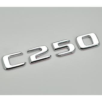 Hopea Kromi C250 Flat Mercedes Benz AutoMalli Takasaappaan numero Tarra Tarramerkki Tunnus C-luokan W202 W203 W204 W205 AMG