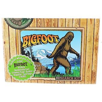 Character Goods - Archie McPhee - Bigfoot Research Kit New 12519