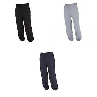 FLOSO Kids Unisex Jogging Bottoms/Pants / School Wear Range (Closed Cuff)