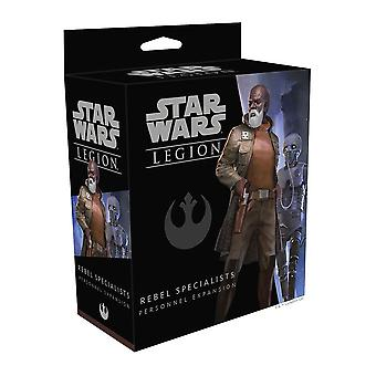 Star Wars Legion Rebel Specialists Personnel Expansion Pack