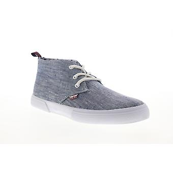 Ben Sherman Bristol Chukka  Mens Blue Canvas Low Top Sneakers Shoes