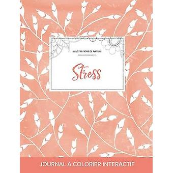 Journal de coloration adulte Stress Illustrations de nature Coquelicots pche by Wegner & Courtney