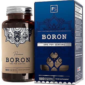 Boori (3mg) 180 Ravintolisät Tabletit