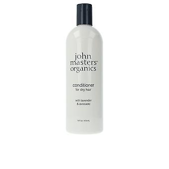 John Masters Organics lavendel & avocado conditioner voor droog haar 473 ml Unisex
