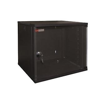 Wall-mounted Rack Cabinet WP WPN-RWA-06604- 6 U 540 x 450 x 310 mm Black