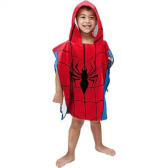 Marvel Spider-Man Youth Hooded Poncho Towel