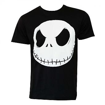 Mareridt før jul Jack Skellington Face T-shirt