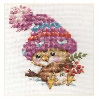 Alisa Cross Stitch Kit - Little Sparrow