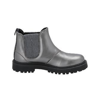 Florens V2207 Kids Girls Boots Grey Lace-Up Boots Winter