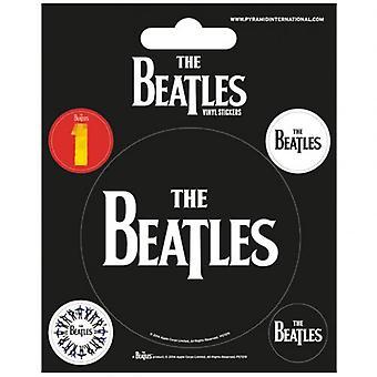 Die Beatles-Aufkleber schwarz