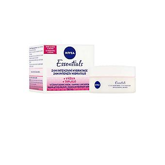 Nivea Essentials Day Cream 24h Intensive Hydration 50ml Pot