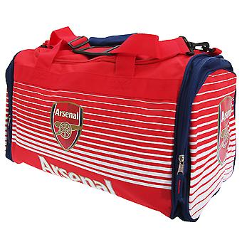Arsenal FC Official Fade Football Crest Shoulder Strap Holdall Bag