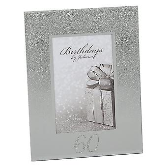 Impressions By Juliana Birthdays By Juliana Glitter Mirror 60th Birthday 4 X 6  Photo Frame